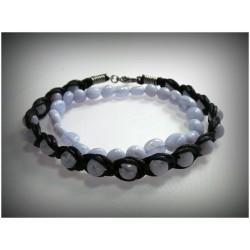 Bracelets en calcédoine