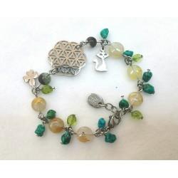 "Bracelet ""voyage"" en turquoise"