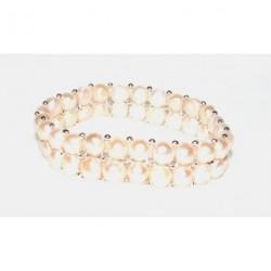 bracelet en perles de culture de Chine